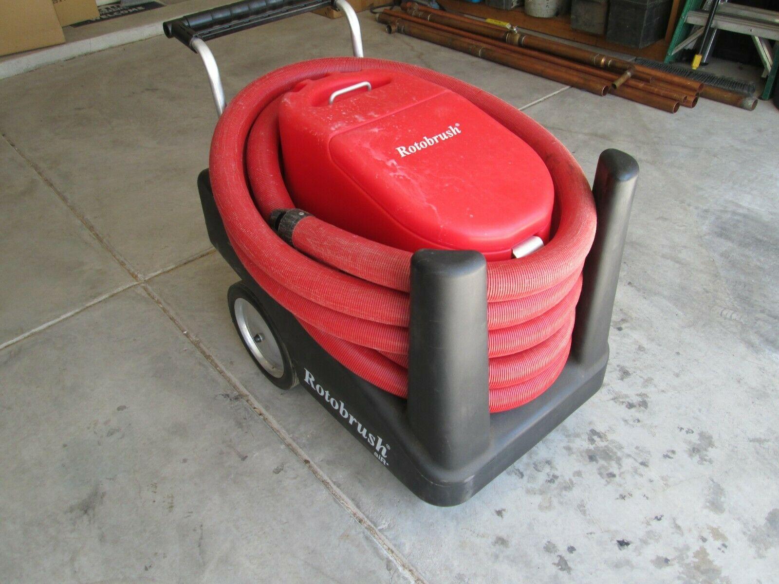 Photo Rotobrush Air Plus Duct Cleaning Machine