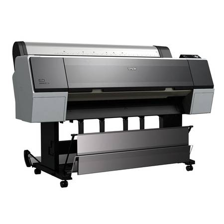 Photo used Epson Stylus Pro 9890 44quot wide format printer for Sublimation - $999 (NMB)