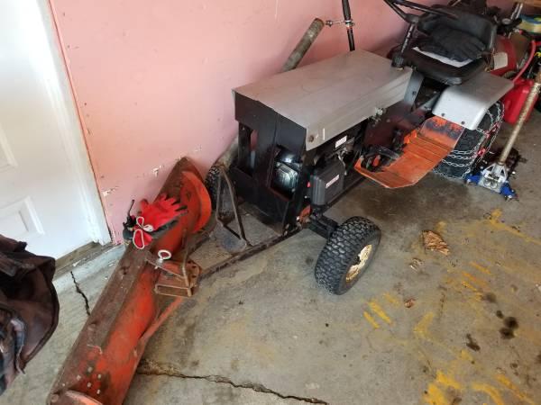 Photo 1969 Ariens Garden Tractor with Plow - $300