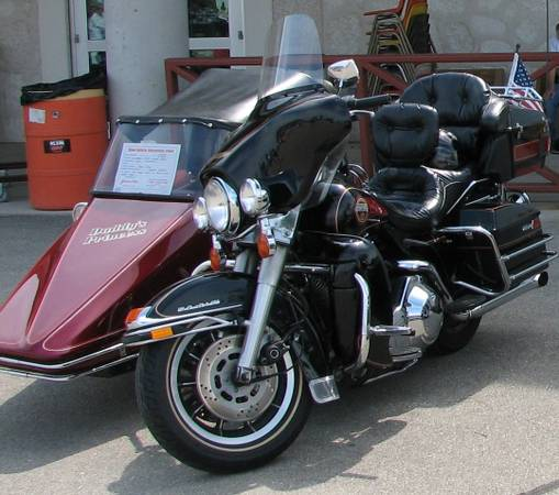 Photo 1991 Harley Davidson Ultra Classic FLTHCU with sidecar - $8,000 (Brown Deer)