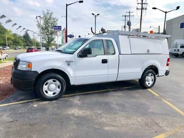 Photo 2008 Ford F150 Utility Box 1 Owner Perfect Work Truck Low Miles  - $5200 (Waukesha)