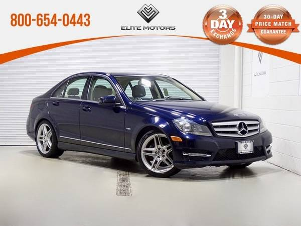 Photo 2012 Mercedes-Benz C-Class C 250 Bad Credit, No Credit NO PROBLEM - $. (2012 Mercedes-Benz C-Class C 250 Bad Cred)