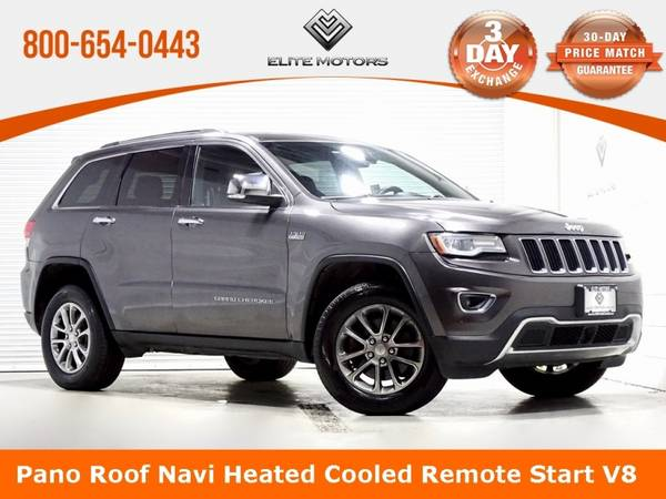 Photo 2014 Jeep Grand Cherokee Limited Bad Credit, No Credit NO PROBLEM - $19,990 (2014 Jeep Grand Cherokee Limited Bad Cred)