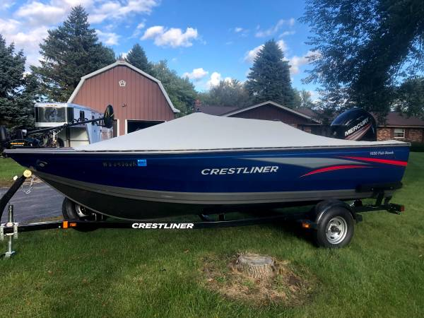 Photo 2015 Crestliner 1650 Fish Hawk - $19,500 (Richfield)