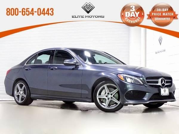 Photo 2015 Mercedes-Benz C-Class C 300 Bad Credit, No Credit NO PROBLEM - $23,500 (2015 Mercedes-Benz C-Class C 300 Bad Cred)