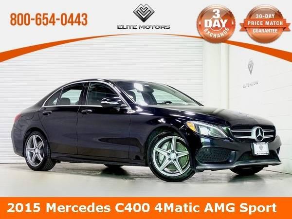 Photo 2015 Mercedes-Benz C-Class C 400 Bad Credit, No Credit NO PROBLEM - $22,000 (2015 Mercedes-Benz C-Class C 400 Bad Cred)