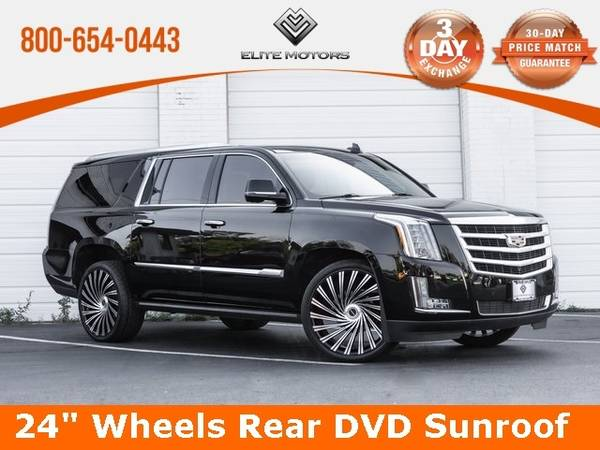 Photo 2016 Cadillac Escalade ESV Premium Bad Credit, No Credit NO PROBLEM - $53,000 (2016 Cadillac Escalade ESV Premium Bad Cr)
