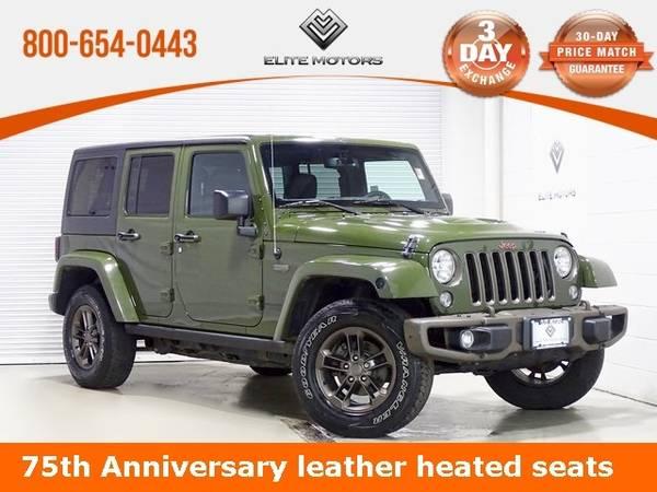 Photo 2016 Jeep Wrangler Unlimited Sahara Bad Credit, No Credit NO PROBLEM - $30,000 (2016 Jeep Wrangler Unlimited Sahara Bad C)