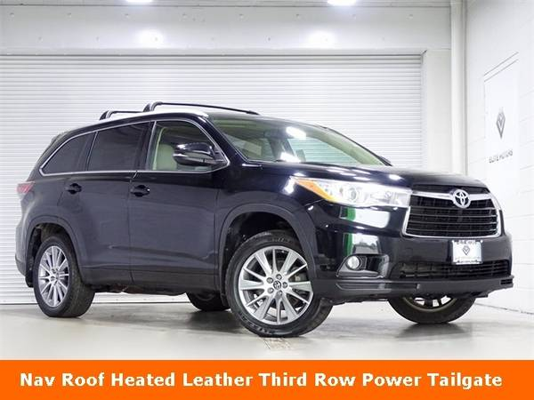 Photo 2016 Toyota Highlander XLE V6 Bad Credit, No Credit NO PROBLEM - $25,000 (2016 Toyota Highlander XLE V6 Bad Credit,)