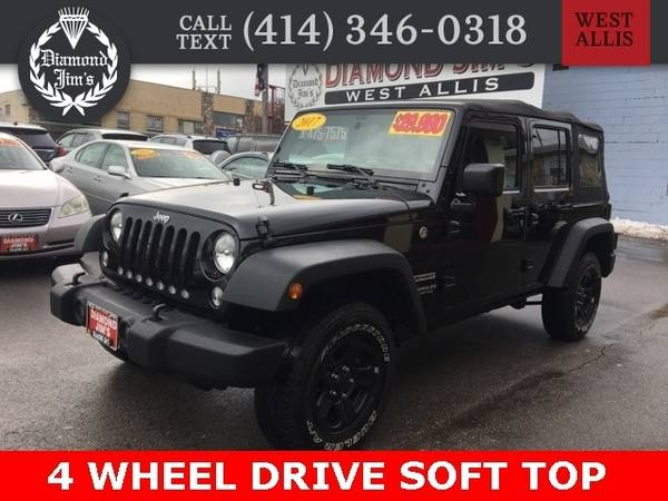 Photo 2017 Jeep Wrangler Unlimited Unlimited Sport - $23995 (_Jeep_ _Wrangler Unlimited_ _SUV_)