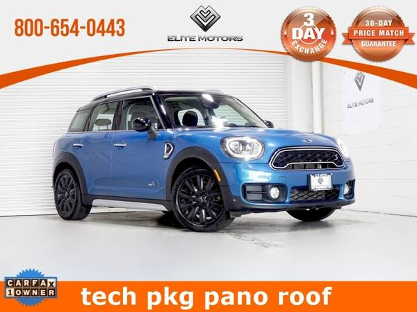 Photo 2017 MINI Cooper S Countryman Base Bad Credit, No Credit NO PROBLEM - $20,900 (2017 MINI Cooper S Countryman Base Bad )