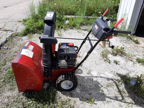 Photo 24quot Craftsman Snow Thrower, hardly used - $295 (Hartford)