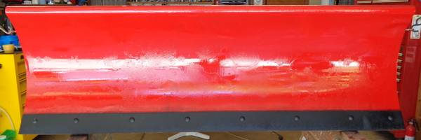 Photo 639 6quot WESTERN STANDARD DUTY STEEL BLADE ASSEMBLY W CUTTING EDGE - $275 (Brookfield, WI)
