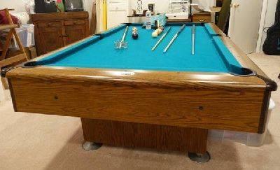 Photo 839 Kasson Pool Table - $600 (Slinger)