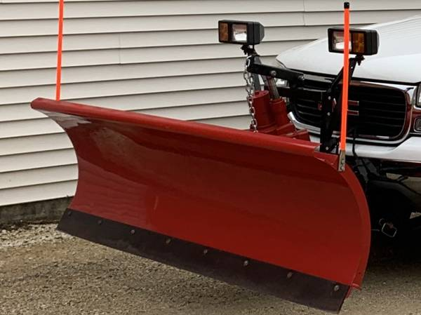 Photo 8ft Western unimount snow plow - $2,800 (Waterford)