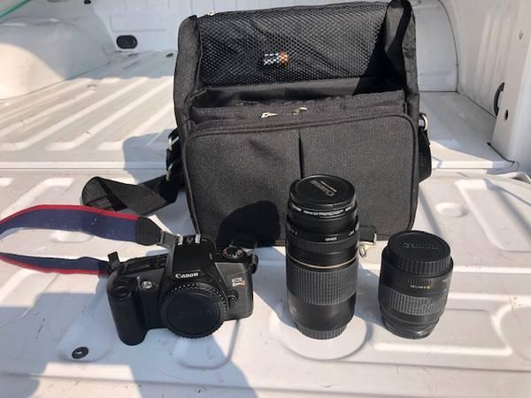 Photo Canon EOS Rebel 35mm - $89 (HARTLAND)