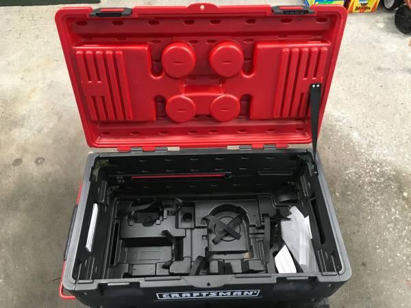 Photo Craftsman Plastic Rolling Tool Cart - $75 (Cedarburg)