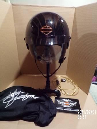 Photo Custom made Motorcycle Helmet Desk L (Conover,Wi.)