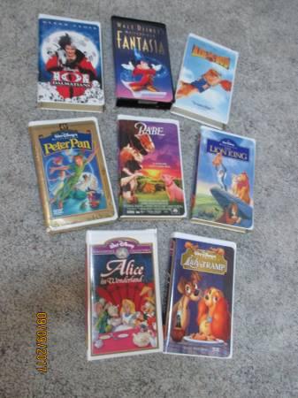 Photo Disney VHS Movies - $5 (Dousman)
