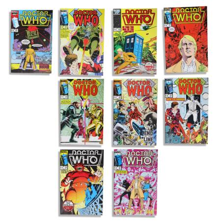 Photo Doctor Who Marvel Comics - Vintage American Editions - $30 (Springdale Estates)