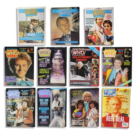 Photo Doctor Who Monthly - British Fan Magazines - $20 (Springdale Estates)