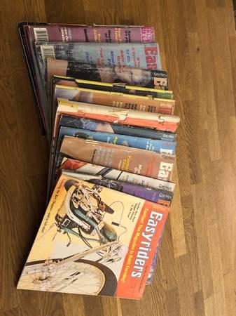 Photo Easy Rider Magazines - $35 (Elm Grove)