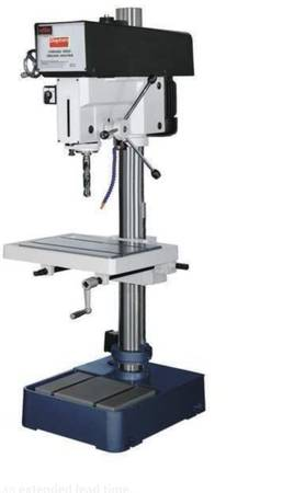 Photo FLOOR DRILL PRESS 2HP CENTRIFUGAL DRIVE VARIABLE SPEED (DES PLAINES)