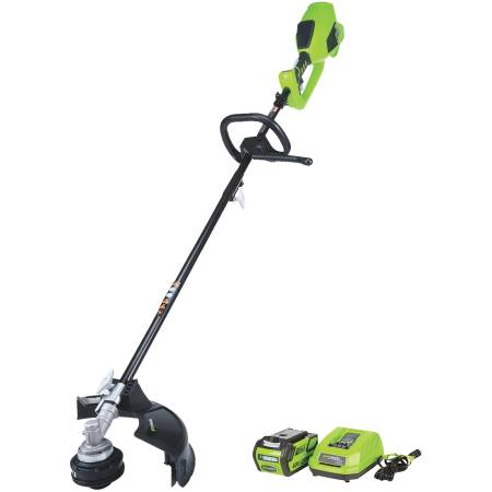 Photo GREENWORKS DigiPro G-MAX 14quot BATTERY STRING TRIMMER (new) - $185 (S 13th St and W College Ave Milwaukee)
