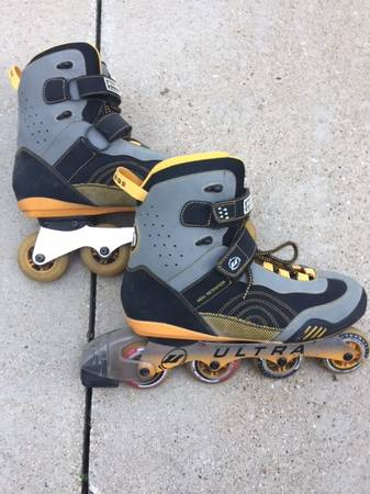 Photo IN-LINE SKATES MENS 13 ROLLER BLADES WITH PADS AND EXTRA39S - $85 (GRAFTON)