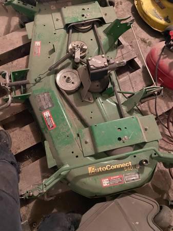 Photo John Deere 1025r 54 inch mower deck - $900 (Waupun)