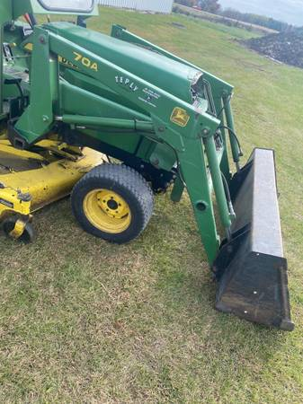 Photo John Deere 855,955 70A loader attachment - $3,800 (Waupun)