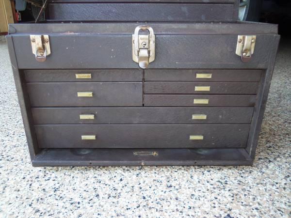 Photo KENNEDY MACHINIST TOOL BOX with Key - $60 (Mukwonago)