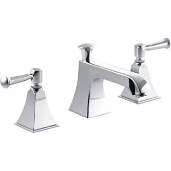 Photo Kohler Memoirs Stately bathroom sink faucet with lever handles - $350 (Hartland)