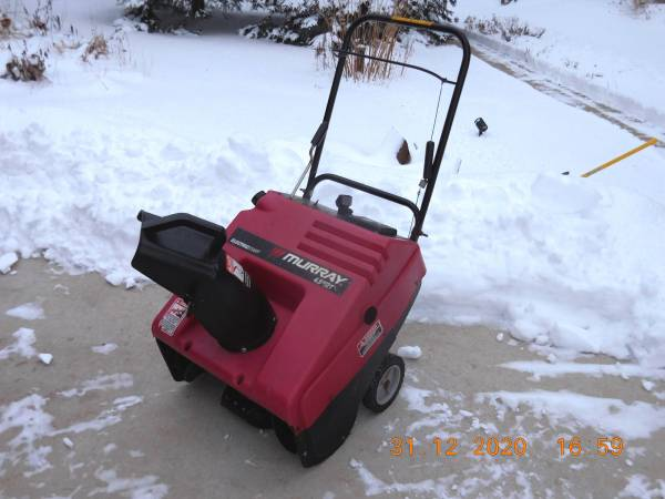 Photo Murray Craftsman Snow Blower Parts All - $45 (East Troy)