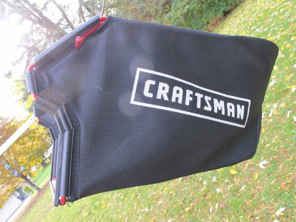 Photo New Craftsman Dust Blocker Lawn Mower Grass Catcher Bag - $35 (Waukesha)