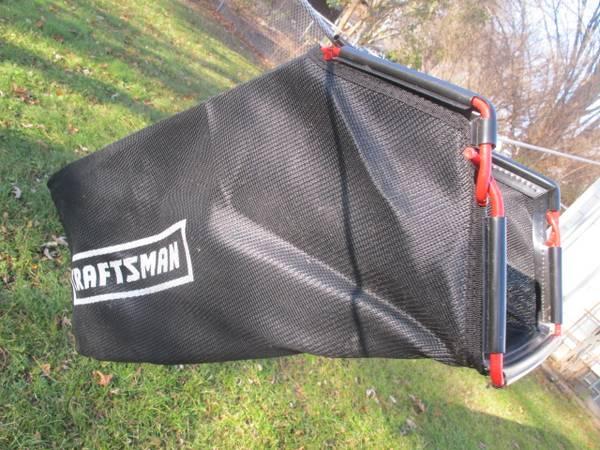 Photo New Craftsman Dust Blocker Mower Grass Catcher Bag With Side Shoot - $50 (Waukesha)