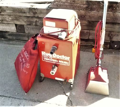 Photo Rug Doctor Carpet Cleaner R-40 Unit V10 Floor tool - $160 (Hartford)