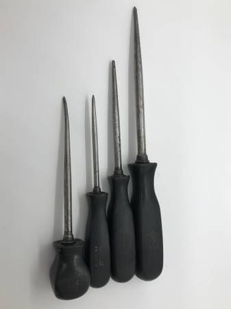 Photo SNAP ON Tools Set Lot Awl Scratch Pic Pick Scribe Stubby - $60 (Brookfield)