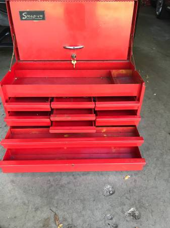 Photo Snap On Tool Box Top Chest 26quot Red - $425 (Brookfield)