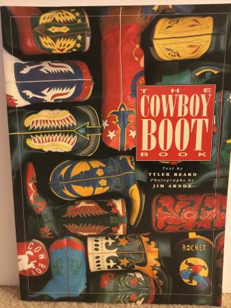 Photo The Cowboy Boot Book - $9 (Brookfield)