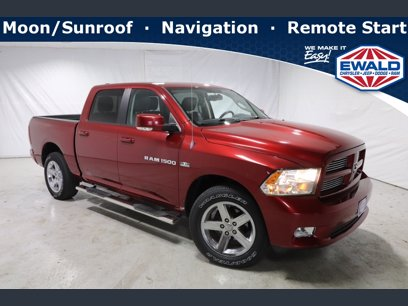 Photo Used 2012 RAM 1500 4x4 Crew Cab Sport for sale