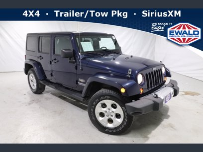 Photo Used 2013 Jeep Wrangler Unlimited Sahara for sale
