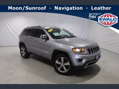 Photo Used 2015 Jeep Grand Cherokee 4WD Limited for sale