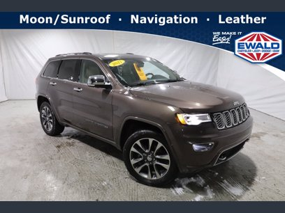 Photo Used 2017 Jeep Grand Cherokee Overland for sale