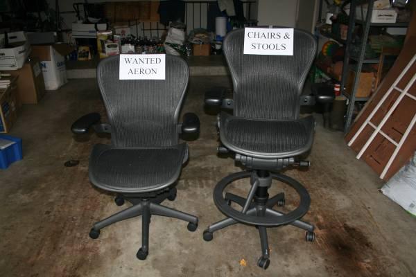 Photo Wanted Herman Miller Aeron ChairsStoolsParts (Northfield)