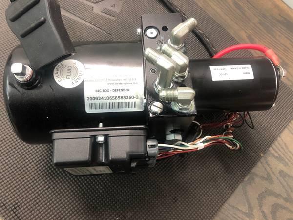 Photo Western Snow plow hydraulic pump and motor - $300 (Colgate)