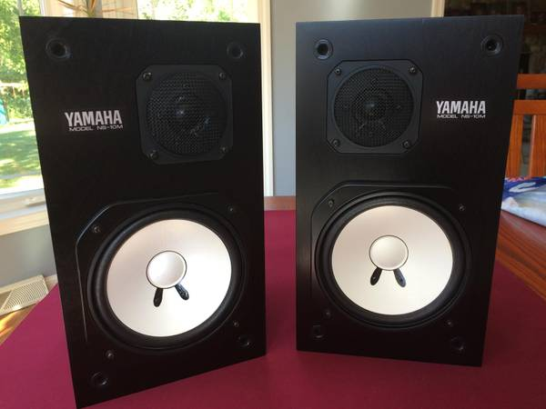 Photo Yamaha NS-10M Pair - Excellent Condition - work perfectly - $775 (Mukwonago)
