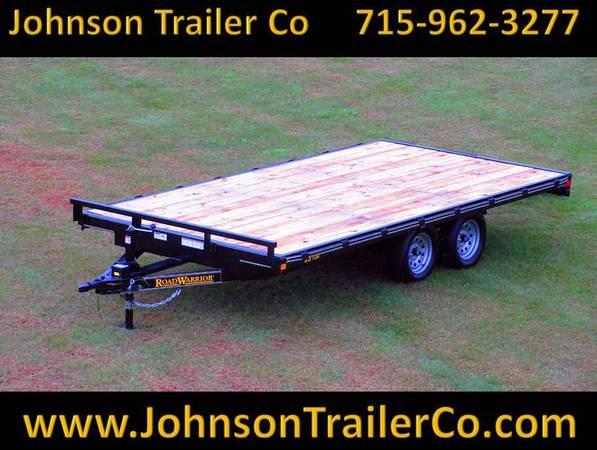 Photo 102quot x 1639 Road Warrior Deckover ATV Trailer - $3,656 (Colfax, WI)