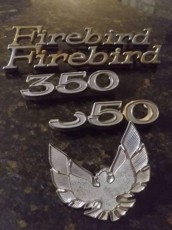 Photo 1970 Pontiac Firebird Badges and Emblems - $50 (New Hope)