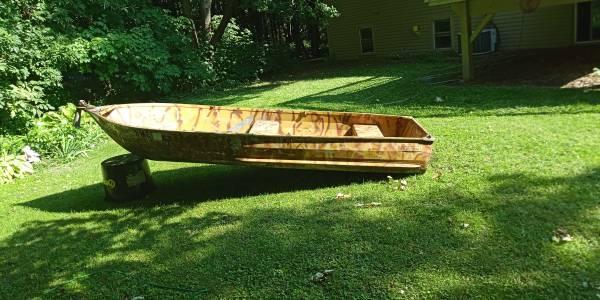 Photo 1974 Sears Aluminum DuckFish Boat - $235 (St Michael)